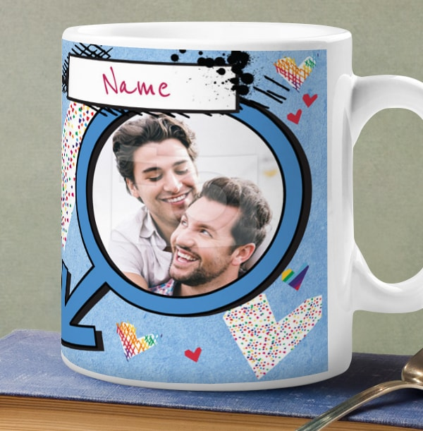 Love You Male Photo Mug