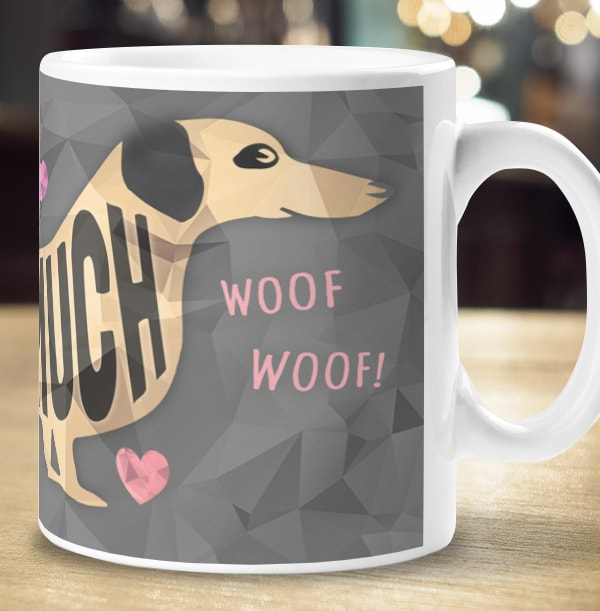 Love You This Much Personalised Mug