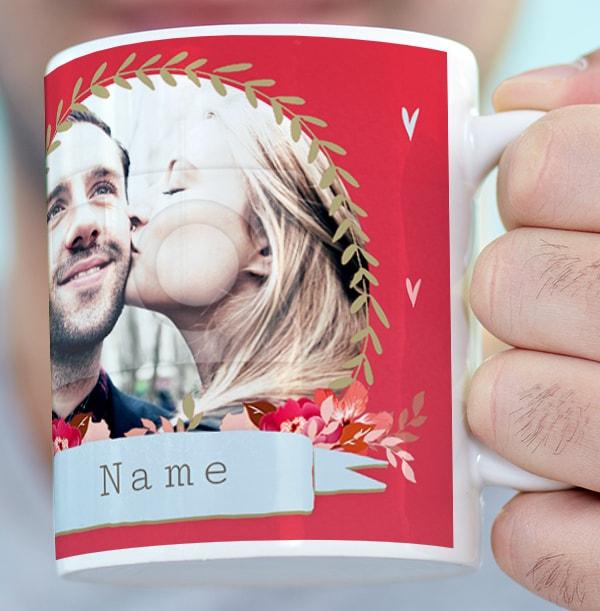 Frenchie Kisses Photo Mug