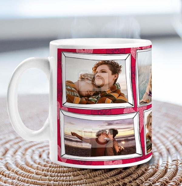 Multi Photo Frame Mug