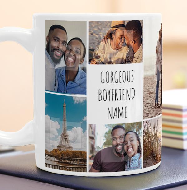 Gorgeous Boyfriend Photo Mug