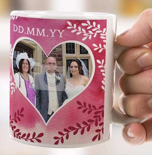 Mother of the Groom Personalised Wedding Mug