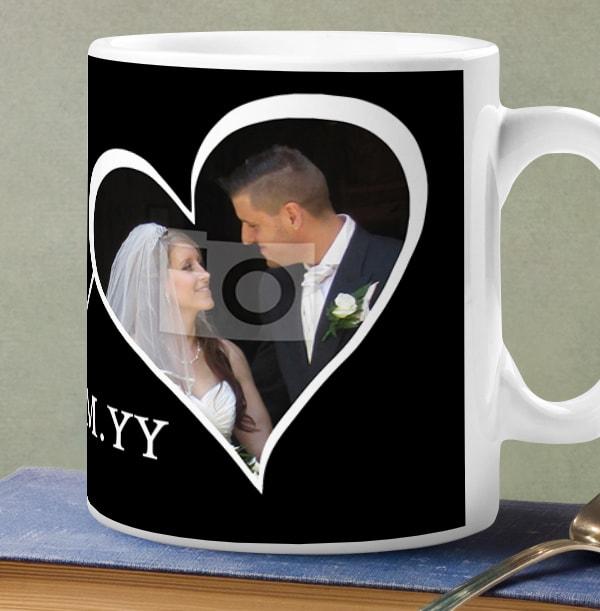 Groom Personalised Photo Wedding Mug