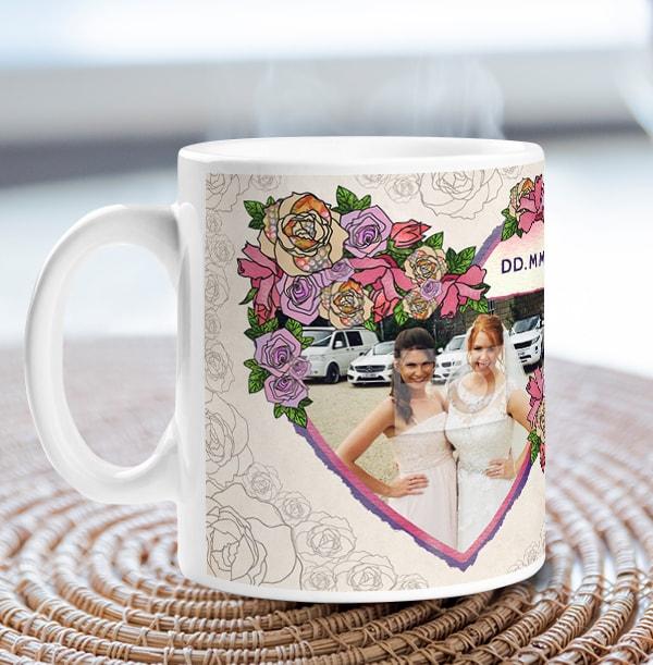 Bridesmaid Thank You Photo Mug