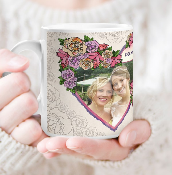Maid of Honour Thank You Photo Mug