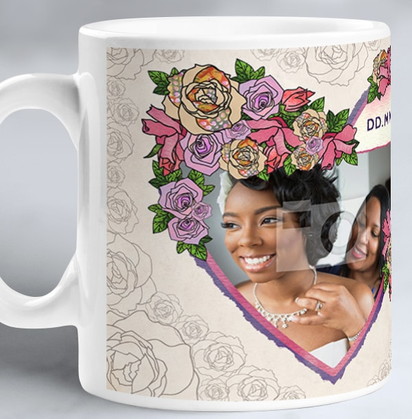 Mother of the Bride Thank You Photo Mug