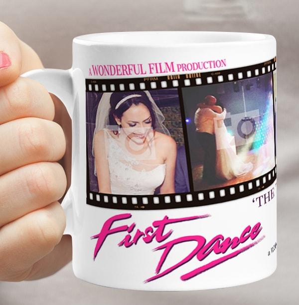 First Dance Personalised Photo Wedding Mug