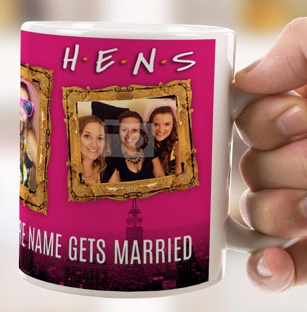 Hens Photo Upload Personalised Mug