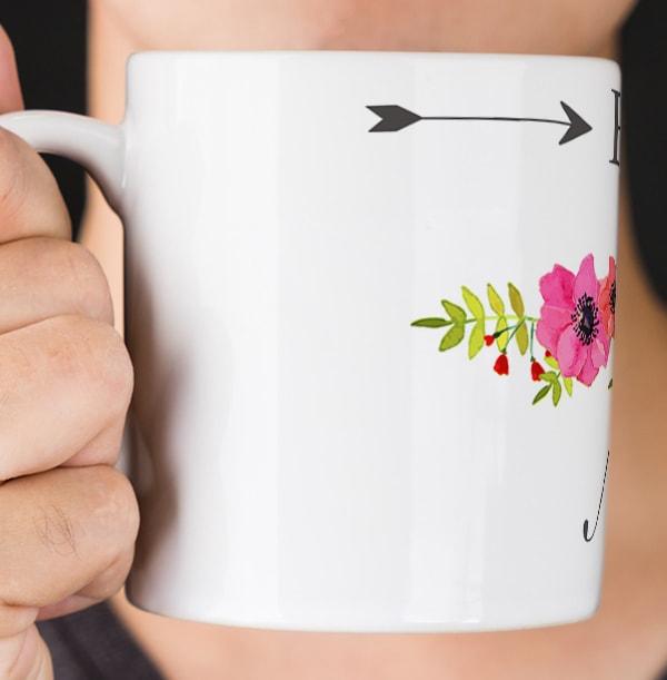Bride To Be Personalised Mug