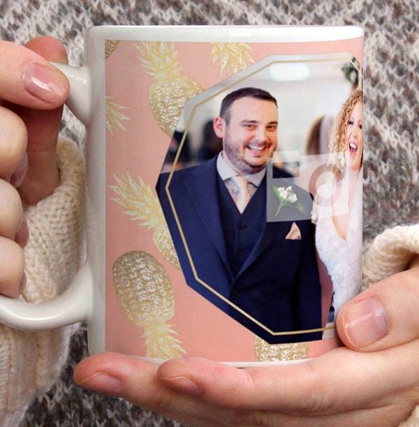 The New Mr & Mrs Photo Wedding Mug