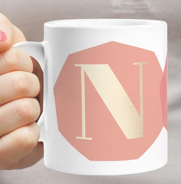 Couple's Initials Personalised Mug