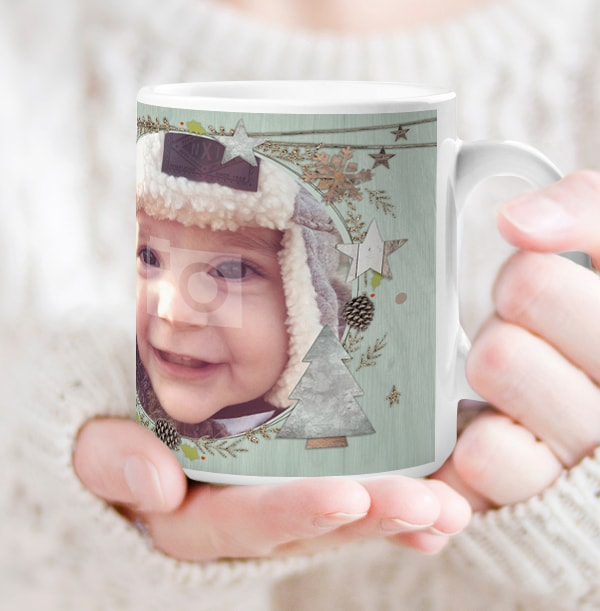 Grandad Merry Christmas Personalised Mug