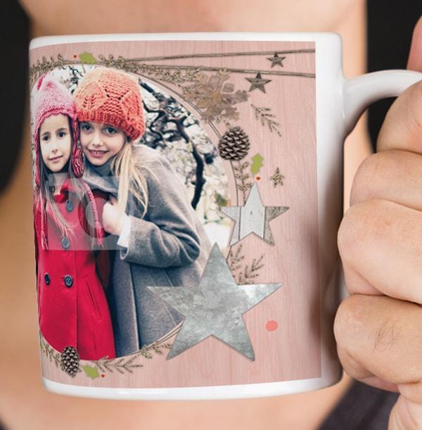 Nana Merry Christmas Personalised Mug