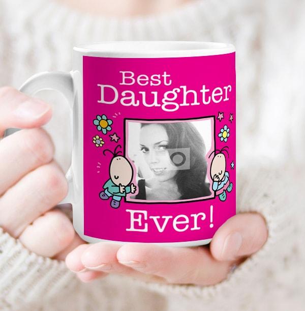Best Daughter Ever Personalised Mug - Lemon Squeezy