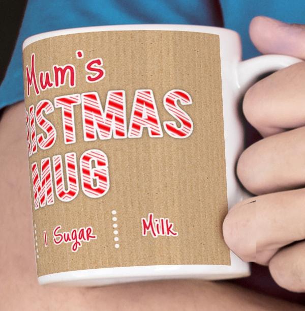 Mum's Christmas Mug - Photo Upload