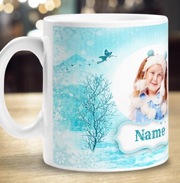 Christmas Cocoa Personalised Mug - For Daughter