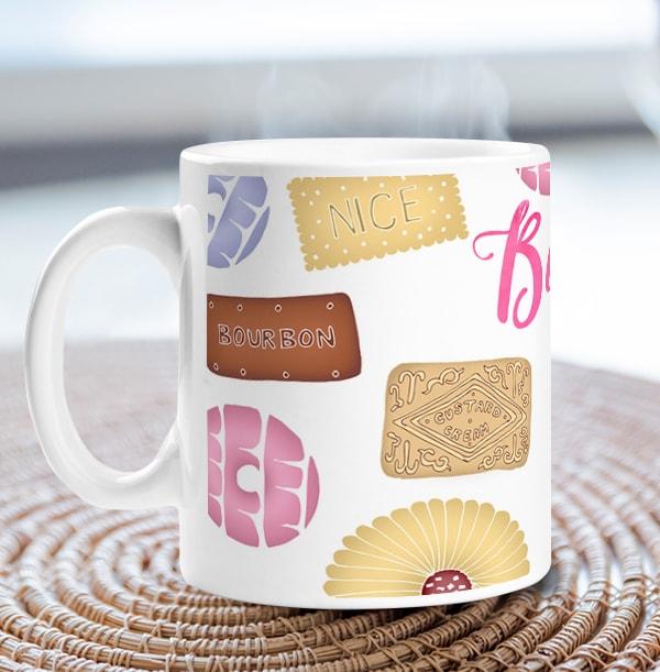 Biscuit Lover Personalised Mug