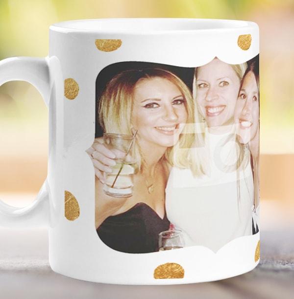 Prosecco Photo Upload Personalised Mug