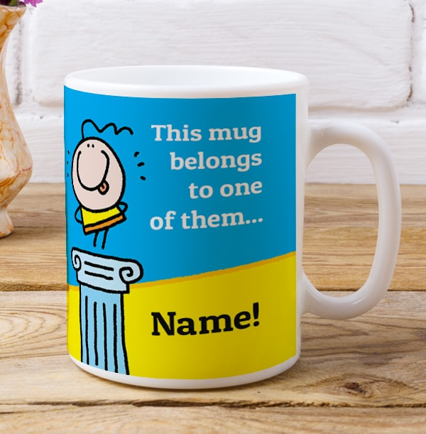 Talented Witty Personalised Mug
