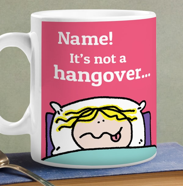 Wine Flu Personalised Mug