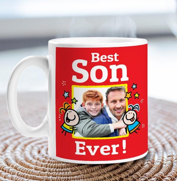 Best Son Ever Photo Mug