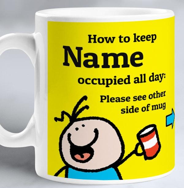 Please See Other Side Personalised Mug