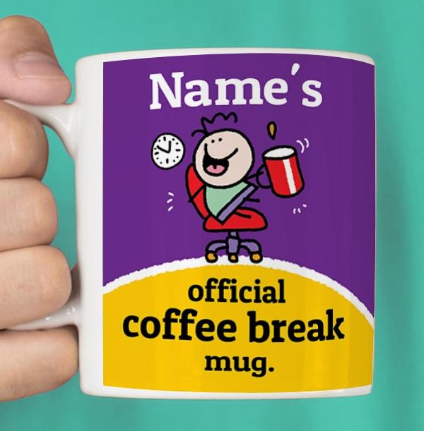 Coffee Break Personalised Mug
