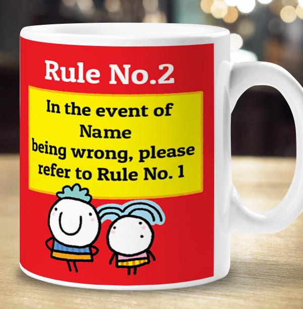 Always Right Personalised Mug