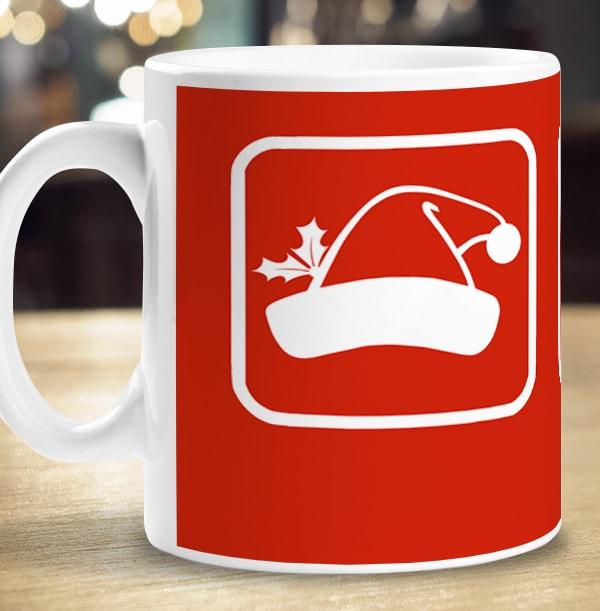 Christmas Prize Anchor Personalised Mug