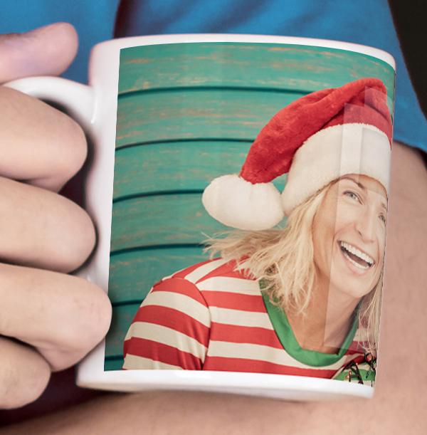Christmas Personalised Full Photo Mug