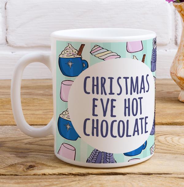 Christmas Eve Personalised Mug