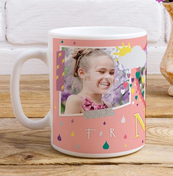 Nanny Sunshine Multi Photo Mug