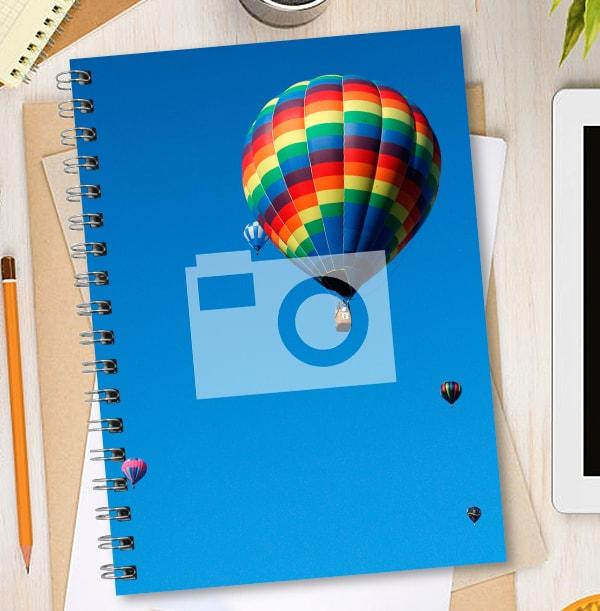Portrait No Border Non Personalised Notebook