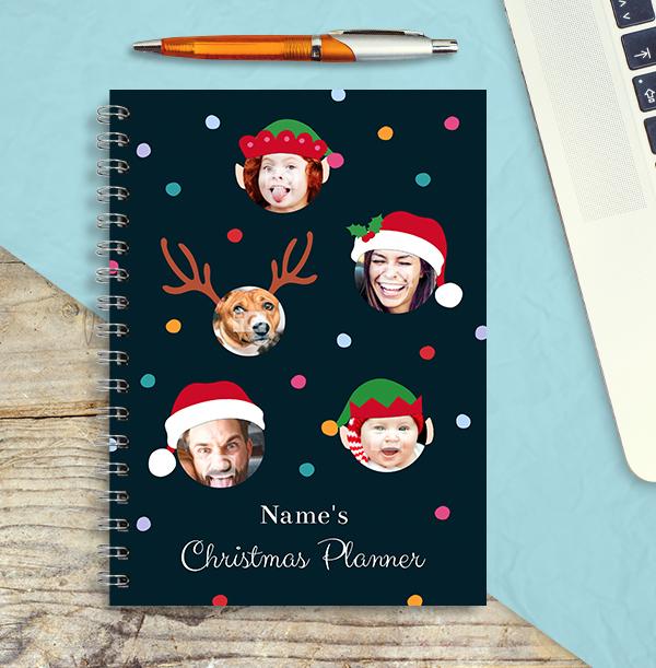 Christmas Family Photo Notebook