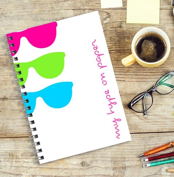 Sunny Shades Long Hot Summer Notebook