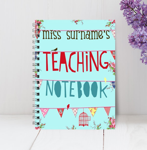 Miss Surname's Teacher Notebook