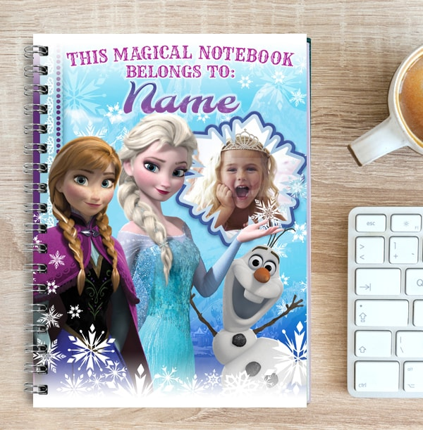 Disney Frozen Magical Photo Notebook, Anna, Elsa & Olaf