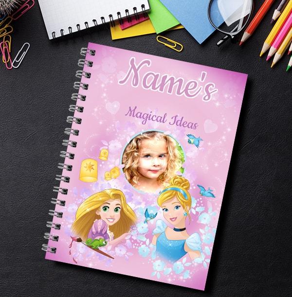 Disney Princess Photo Notebook - Magical Ideas