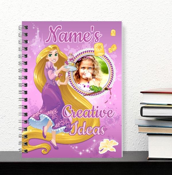 Rapunzel Photo Notebook - Creative Ideas