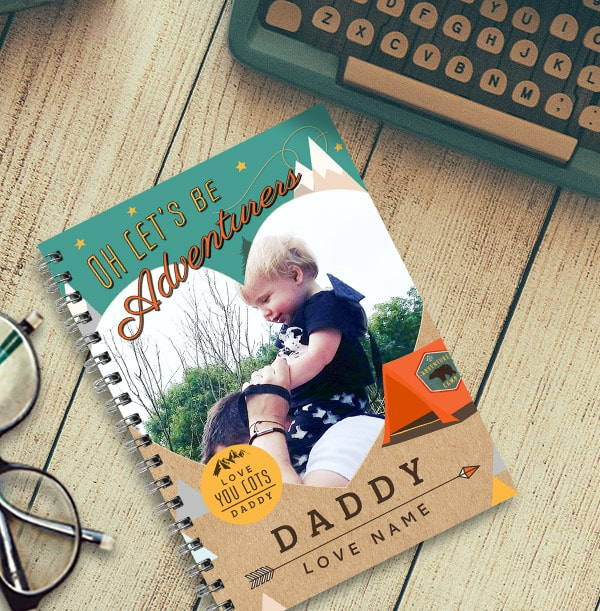 Let's Be Adventurers Daddy Notebook