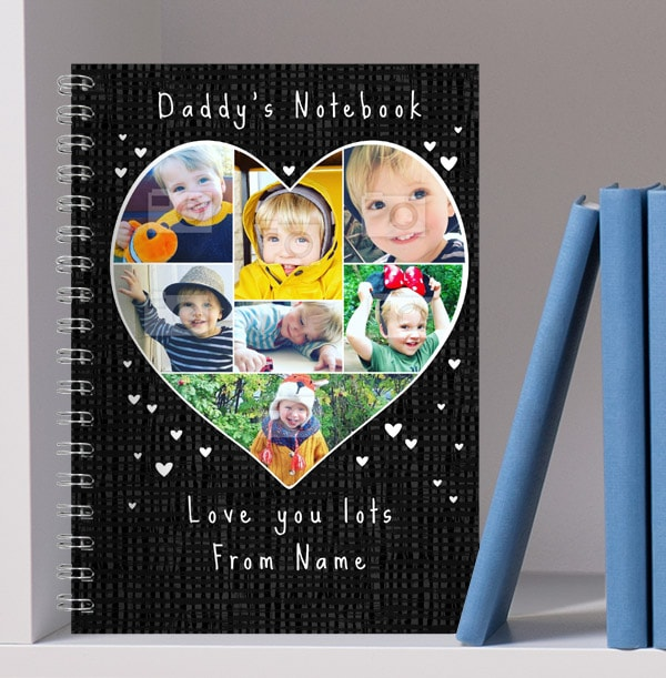 Daddy's Notebook, Multi Photo From Kids