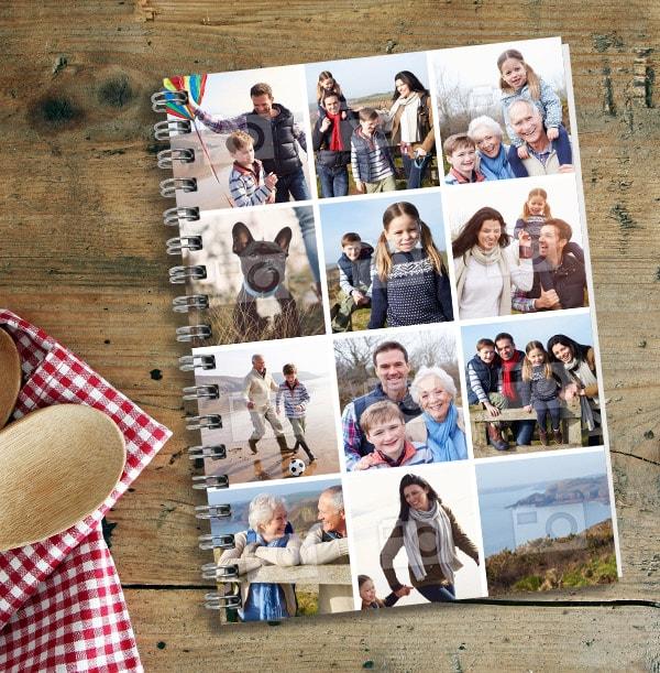 12 Photo Upload Notebook