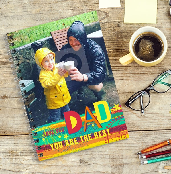 Dad You Are The Best Photo Notebook