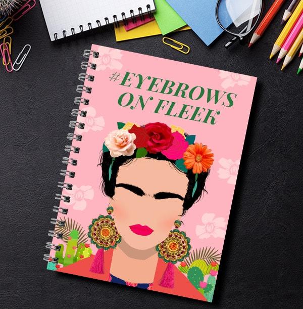 Eyebrows On Fleek Personalised Notebook