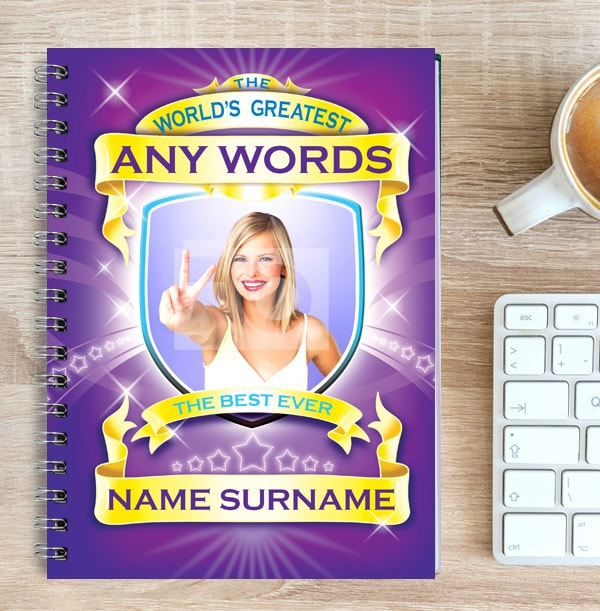 World's Greatest Personalised Notebook, Spoof
