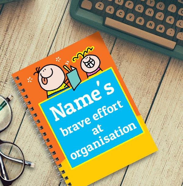Effort at Organisation Personalised Notebook