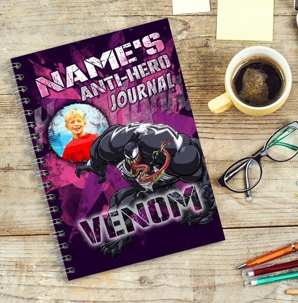 Marvel Venom Photo Upload Notebook