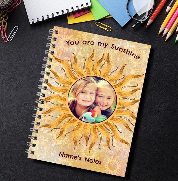 You're My Sunshine Photo Notebook