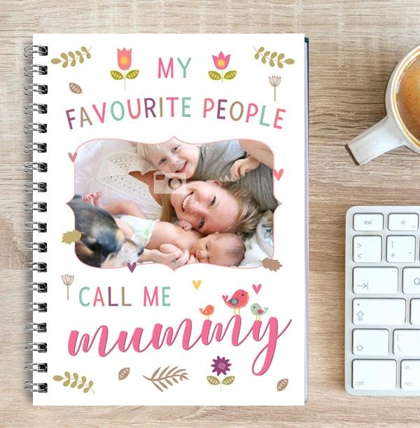 Call Me Mummy Photo Notebook