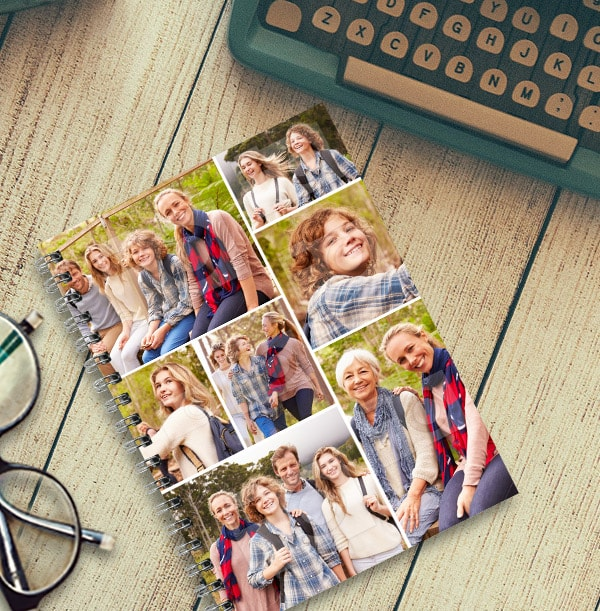 Multi Photo Upload Notebook